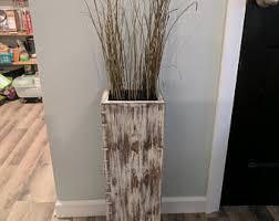 floor vases home decor wide single tall rustic wood floor vase home decor decorative