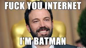 Ben Affleck Batman Meme - forcomicjunkies 10 things ben affleck needs to do as batman