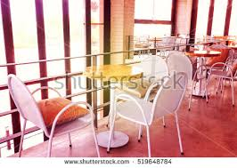 Coffe Shop Chairs Chairs Table Empty Coffee Shop Stock Photo 519648862 Shutterstock