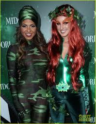 jenna ushkowitz u0026 christina milian midori green halloween photo