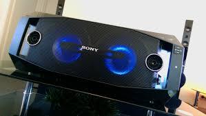 sony high powered bluetooth light up speaker gtk xb5 sony muteki gtk x1bt speaker system youtube