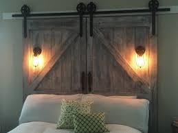 Faux Barn Doors by Barn Door Headboard U2013 Clandestin Info