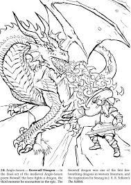 unique ideas dragon coloring book medieval dragons pages and