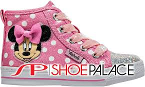 Minnie Mouse Clothes For Toddlers Shoe Palace A14f655a 3 Pnk Minnie Mouse Polk A Dot Glitter Infant