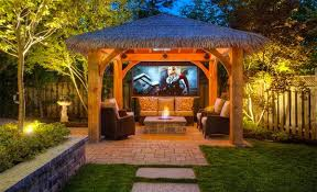 Lighting Ideas For Backyard 15 Dramatic Landscape Lighting Ideas Home Design Lover