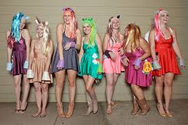 My Little Pony Halloween Costume 16 Group Halloween Costumes For You And Your Squad Cute