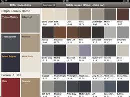 ralph lauren paint color chart real fitness