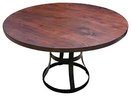 wood and metal round dining table metal round dining table cast round dining table metal top cast