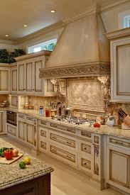 Kitchen Made Cabinets by Custom Made Glazed Kitchen Cabinets Check Out The Oven Hood