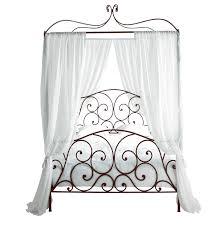 Schlafzimmer Ideen Himmelbett Himmelbett 140 Cm Metall Braun Sheherazad Stilvolle Möbel