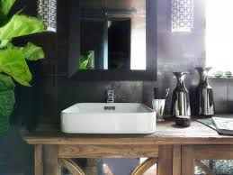rustic bathroom vanities hgtv