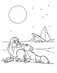 coloring lion king coloring pages 25