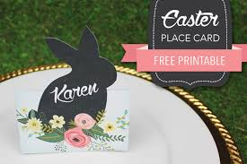 printable name place cards diy easter name place cards
