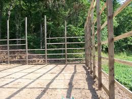 Setting Pole Barn Posts Polebarn