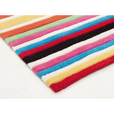 Teen Rug Teen Multi Coloured Stripe Kids Floor Rugs Free Shipping