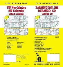 Cortez Colorado Map by Durango And Cortez Colorado Plus Farmington Aztec And Bloomfield