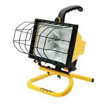 500 watt halogen work light home depot southwire 500 watt portable halogen work light l20sw the home depot
