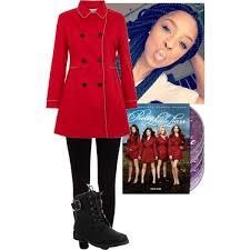 Pretty Liars Costumes Halloween Diy Red Coat Pretty Liars Halloween Costume Polyvore