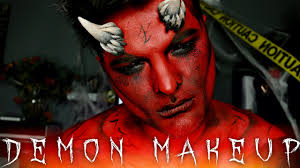 Halloween Devil Eye Makeup Demon Halloween Makeup Tutorial 31 Days Of Halloween Youtube