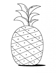 free printable coloring pineapple coloring page 85 for download