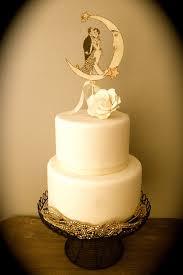 wedding cake topper art deco gold glitter vintage inspired