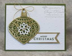 delicate ornaments for easy handmade cards sting madly