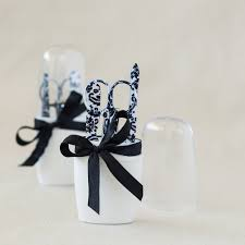 manicure set favors damask manicure sets spa bridal shower manicure favors