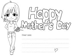 happy mothers day coloring pages free large images coloring