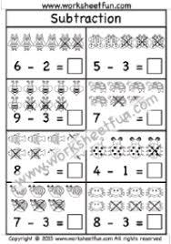 subtraction u2013 picture free printable worksheets u2013 worksheetfun