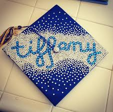 Ideas On How To Decorate Your Graduation Cap Simple And Cute Bling Grad Cap Graduation Craft Diy
