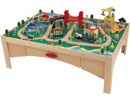 wooden train set table 55 wood train table set train track wooden activity table plum play