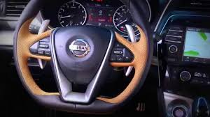 new nissan maxima interior new 2016 nissan maxima interior youtube