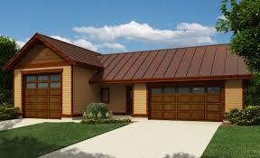 Rv Garage Rv Garage With Workshop 9829sw Architectural Designs House Plans