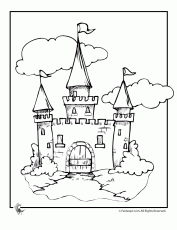 disneyland castle coloring pages only coloring pages coloring home