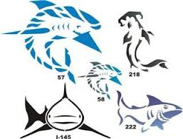 amazon com airbrush temporary tattoo stencil template set 17