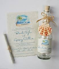 wedding invitations in a bottle wedding invitations glass bottles