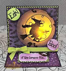 tea light halloween card pink and main blog