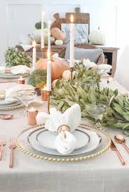 20 beautiful tables that define thanksgiving goals automne