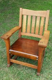 Mission Oak Rocking Chair Craftsman Rocking Chair Ideas Home U0026 Interior Design