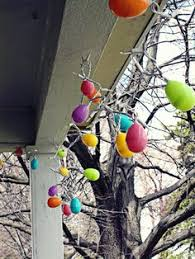 Easter Egg Lights Decorations by Solar Easter Egg String Lights Easter Decorations Pinterest