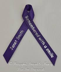 memorial ribbons black memorial personalised printed ribbons funeral ribbons