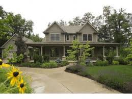 Craftsman Style House Plans With Wrap Around Porch The House Plan Shop Blog Featured Country House Plan With