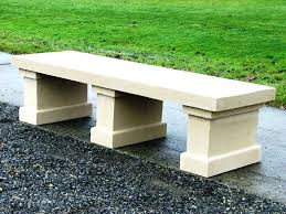 outdoor concrete bench diy concrete benches and tables miami