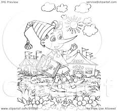 coloring pages royalty free rf clipart illustration of a black