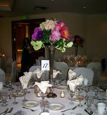 tall wedding centerpieces for your california wedding bay area