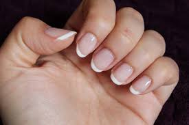 how to easy french manicure nails at home u2013 beaming lily