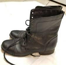 womens black combat boots size 9 steve madden s combat boots us size 9 ebay