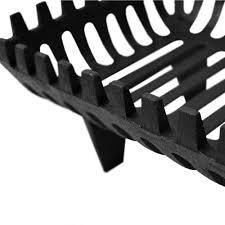 cast iron log basket 16