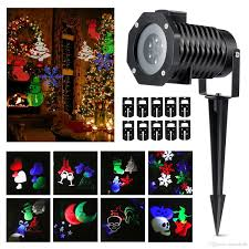 House Christmas Light Projector by Christmas Lights Spotlights Led Landscape Projector Lights