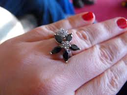 flower shaped rings images My flower engagement ring the journey pic heavy JPG